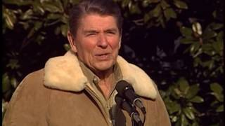President Reagan's Remarks at his 77th Birthday on South Lawn, February 5, 1988