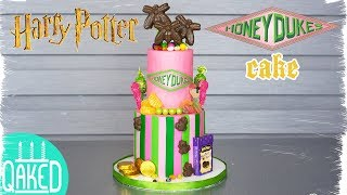 HONEYDUKES CAKE from HARRY POTTER! | Harry Potter Party Ideas