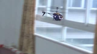 Радиоуправляемый вертолет стреляющий ракетами WLToys V398 3CH I/R(Спецификация - размеры: 24 × 11.7 × 4.7 см; - аккумулятор: Li-po battery 3.7V 240MAH; - время до полной подзарядки: 45 мин; - время..., 2014-10-22T15:12:42.000Z)