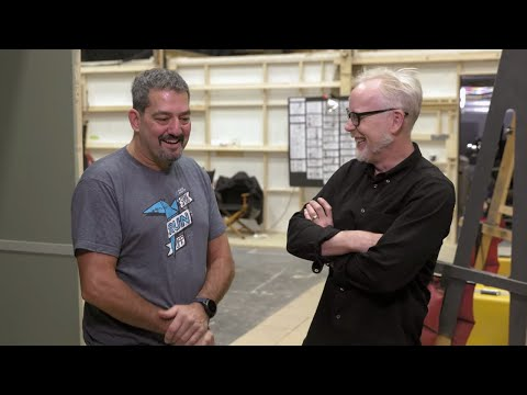 Adam Savage Meets the Expanse's Stunt Coordinator!