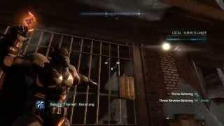 Batman: Arkham Origins - Cold, Cold Heart DLC - How to Open Door To Frozen Cop