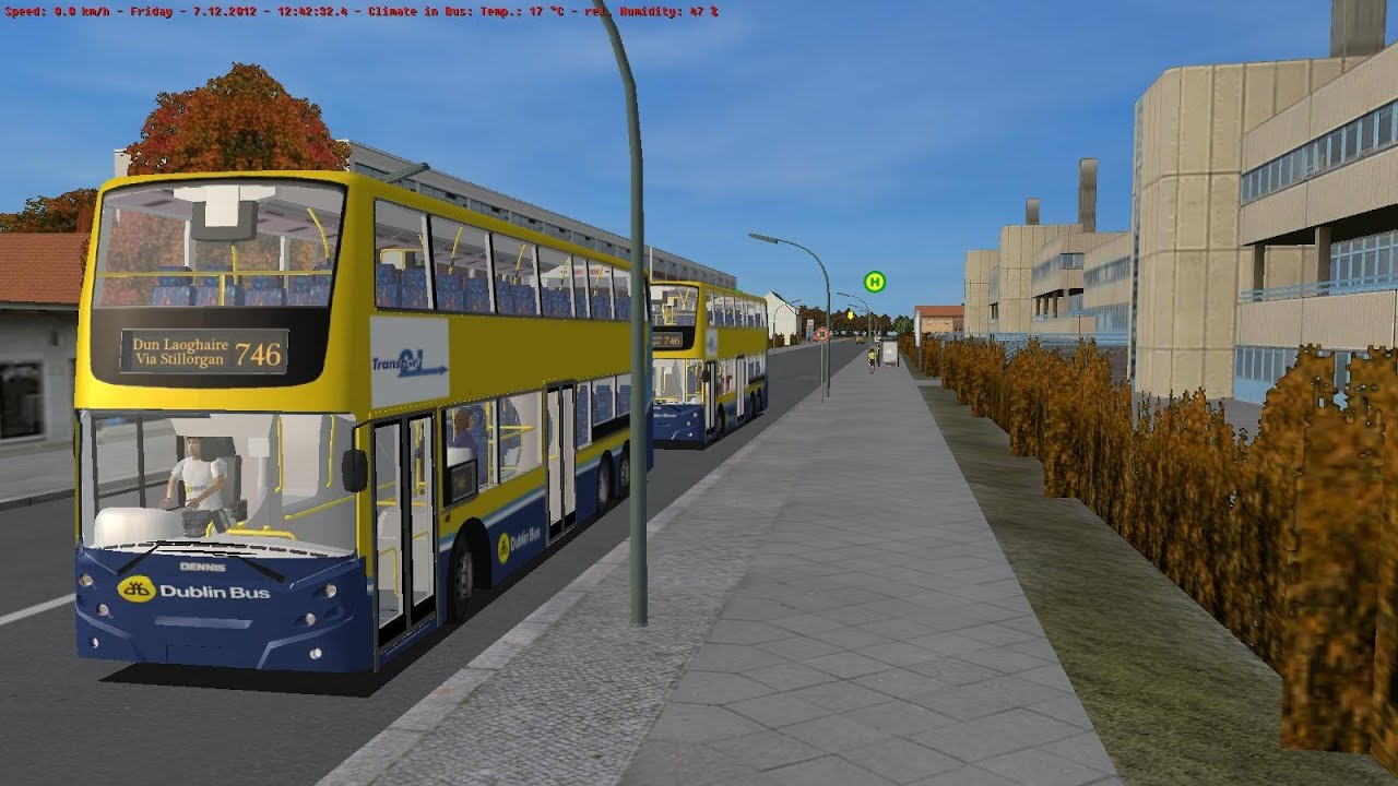 Omsi 2 Berlin Spandau Route 130 Dublin Bus Three Generation Addon 2012 Omsi The Bus Simulator Dublin Enviro 500 Route 746 By Eamons85