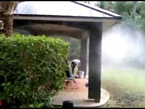 Captivating Pool Side Misting | Outdoor Cooling | Patio Mister