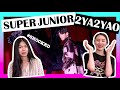 SUPER JUNIOR '2YA2YAO' M/V REACTION!!
