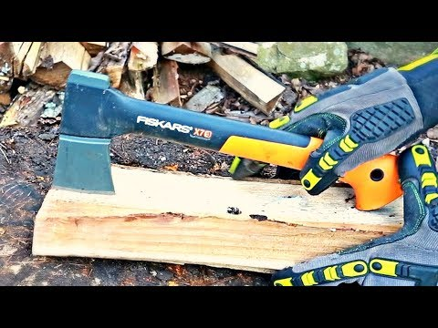 You've Been Splitting Kindling with a Hatchet Wrong!