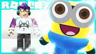 Becoming the CUTEST BABY MINION in Roblox!!