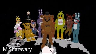 Five Nights at Freddy s 2 ,,Survive The Nights Full Animation Song