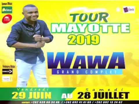 Wawa salegy tour Mayotte 2019 extrait