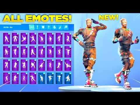 BURNED MERRY MARAUDER SKIN Showcase With All Fortnite Dances & New Emotes! (Fortnite Season 7 Skin)