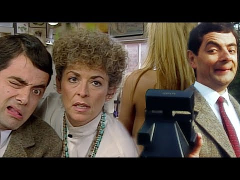 Picture Bean | Funny Clips | Mr Bean Official