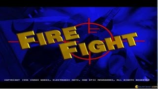 Fire Fight gameplay (PC Game, 1996)