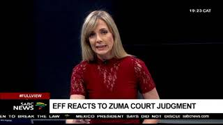 Parties react to Zuma legal fees court ruling