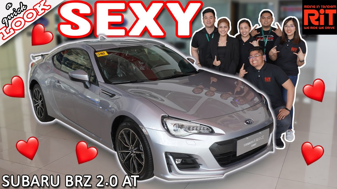 2020 Subaru Brz 2 0 A Quick Look Affordable Sports Car Philippines Youtube