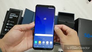 Unbox Galaxy S8+ 128GB 6GB RAM Midnight Black