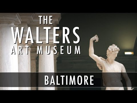 The Walters Art Museum in Baltimore - Tour and Overview