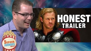 Honest Reactions: Thor Writer Watches Thor Honest Trailer