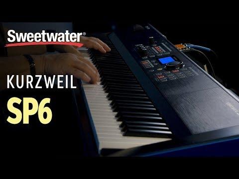 Kurzweil SP6 88-key Stage Piano Demo