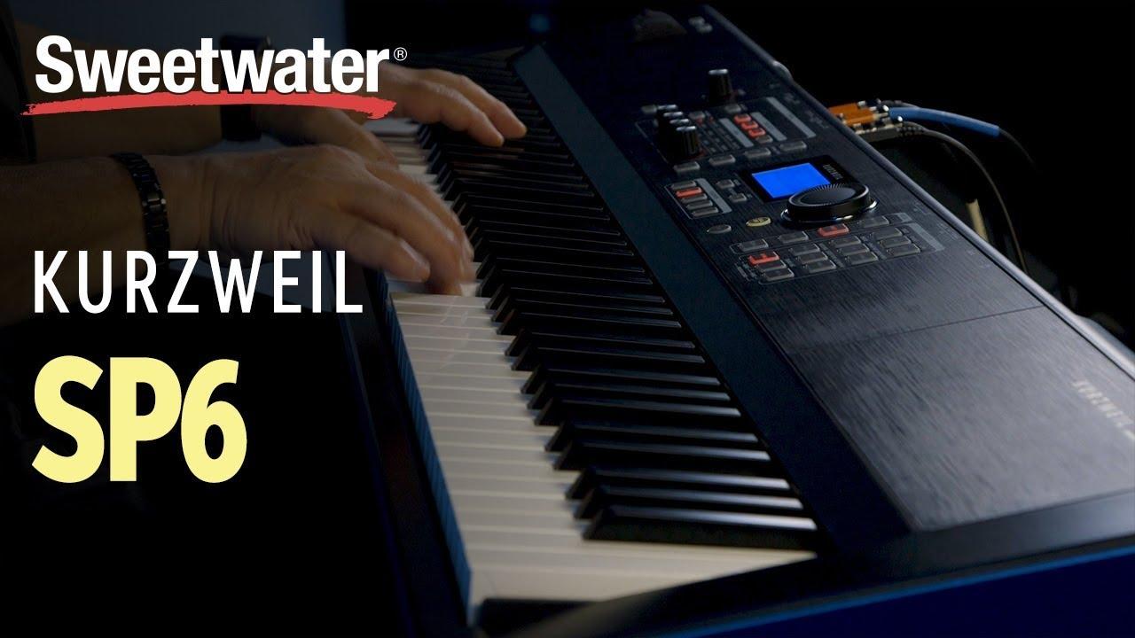 Kurzweil SP6 Stage Piano | Sweetwater