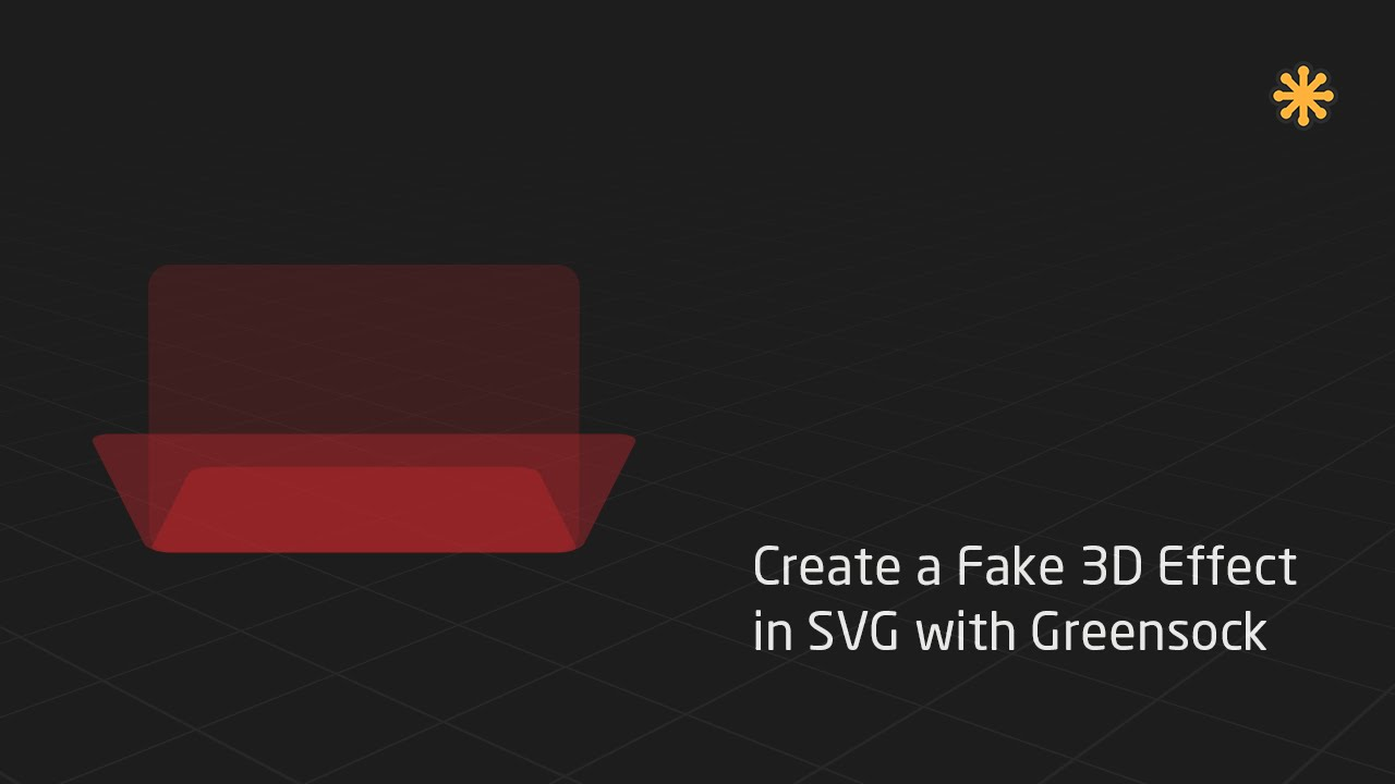 Create a 3D Effect in SVG with Greensock by Chris Gannon