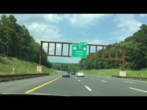 NJRoadway Garden State Parkway To Exit 117 Part 2 - YouTube