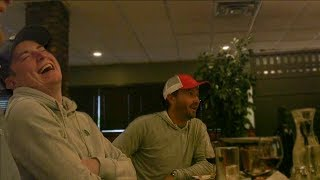 Kevin Kisner and Charley Hoffman Dine With Fore Play At Borrelli's