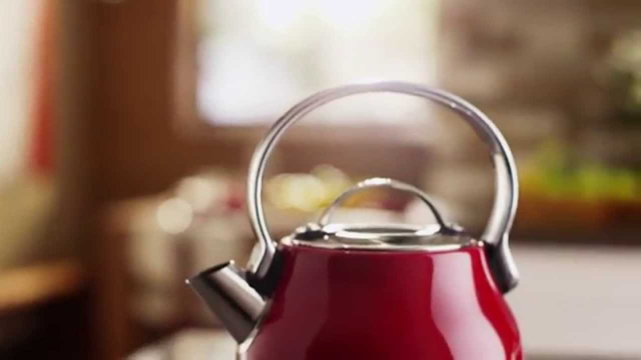 kitchen aid electric kettle backsplashes for counters kitchenaid youtube