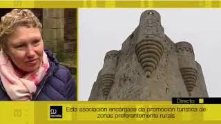 Televisión de Galicia entrevista a Inés Vega, alcaldesa De Castro Caldelas (Ourense)