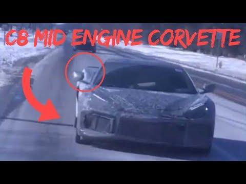 New C Corvette Prototype Spied!