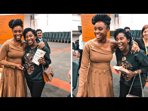 MEETING MY IDOL - CHIMAMANDA NGOZI ADICHIE | AdannaDavid