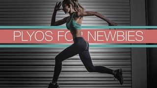 Beginner Home Cardio Workout (PLYOS FOR NEWBIES!!)