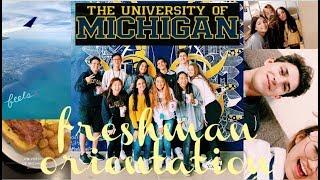 University Of Michigan Freshman Orientation