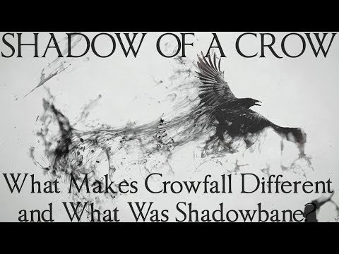 Shadow of a Crow - A Mini Documentary on What Makes Crowfall Different and What Shadowbane Was