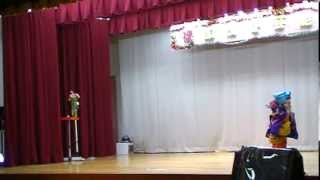 3歳の女の子が踊ります!! 徳島県阿南市加茂谷公民館.