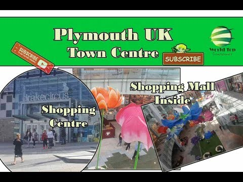 Plymouth, Plymouth Shopping Mall, Plymouth UK Town Centre