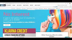 Lenovo financing with Klarna Credit,Zibby,Behalf Credit,&Business Financing,Bad Credit Finance