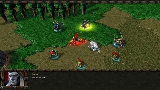 Warcraft 3 custom campaign Warcraft Legends part 1 episode 4