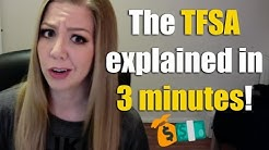 The Tax Free Savings Account TFSA explained in 3 minutes