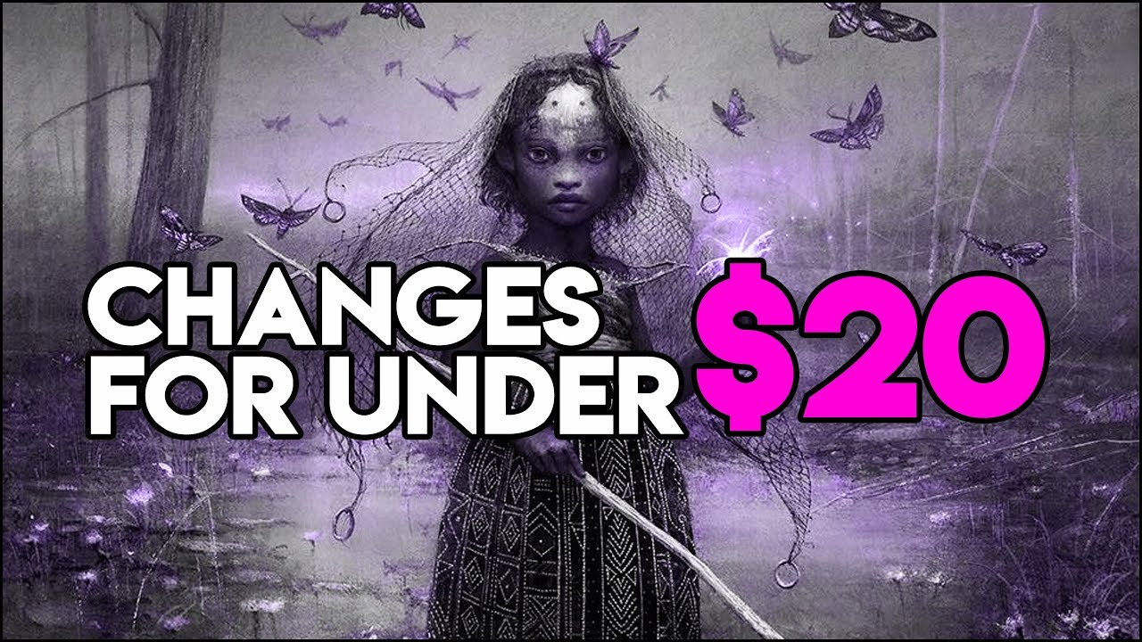 How to Improve Subjective Reality - Edit your deck for under $20!! (MTG  Commander 2018)
