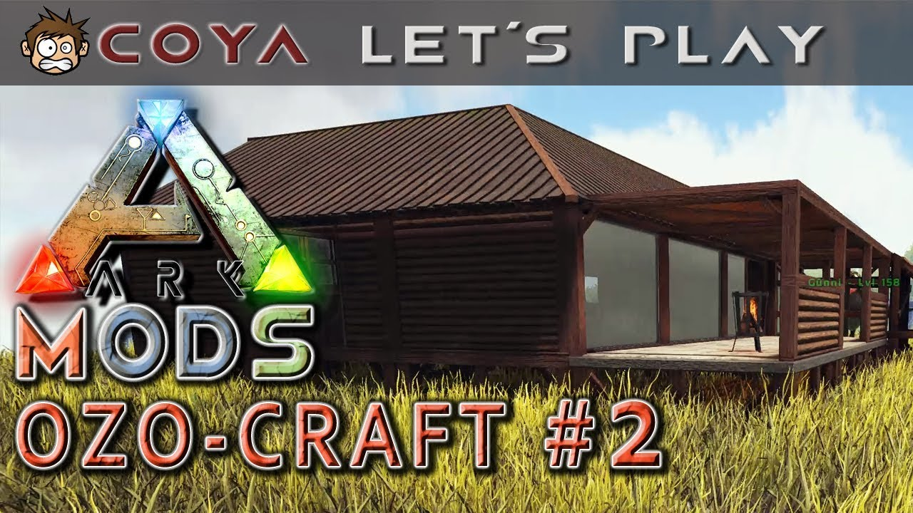 ARK MODS • OZO CRAFT (2) - Richtig schick! • ARK Deutsch • Survival ...