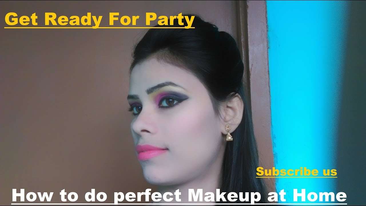 How To Do Perfect Easy Party Makeup At Home | Best Party Makeup - YouTube