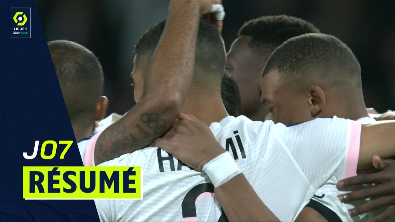 Download Résumé 7ème journée - Ligue 1 Uber Eats / 2021-2022