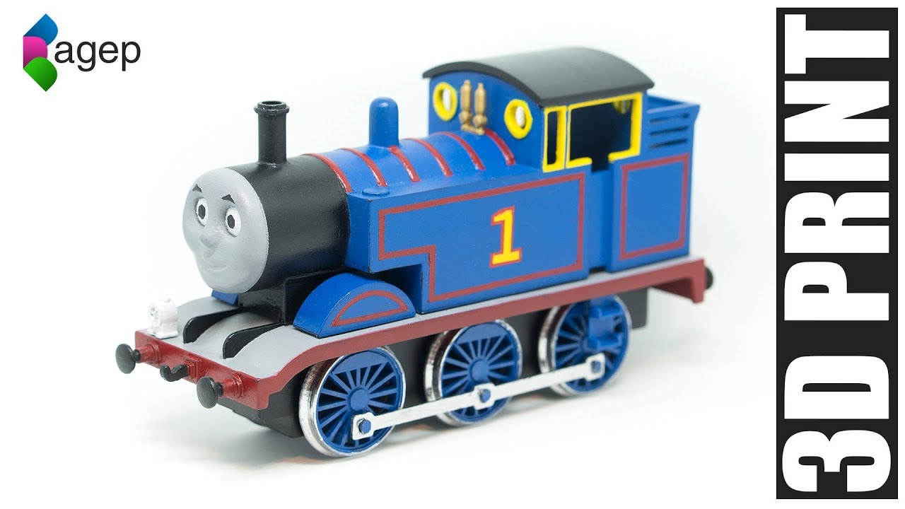 3d Printable Thomas The Tank Engine Thomas Friends By Stian