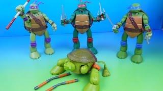 nickelodeon teenage mutant ninja turtles mutations transforming action figure toys video review