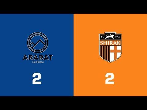 Ararat-Armenia - Shirak 2:2, Armenian Premier League 2018/19, Week 25