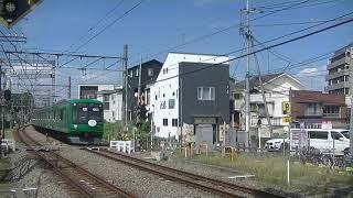 東急5122F(緑)上り回送 西武線西所沢通過