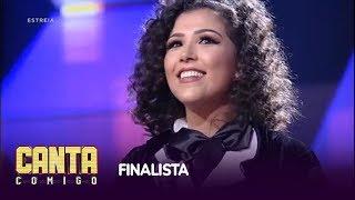 naheda beydoun levanta os 100 jurados e é a primeira finalista do canta comigo
