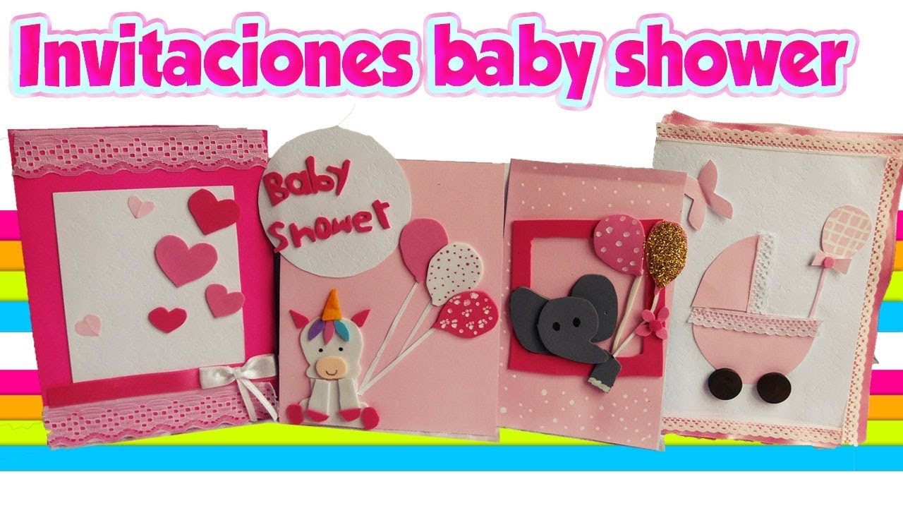 Como Hacer Invitaciones Para Baby Shower Nina Diy Crafts