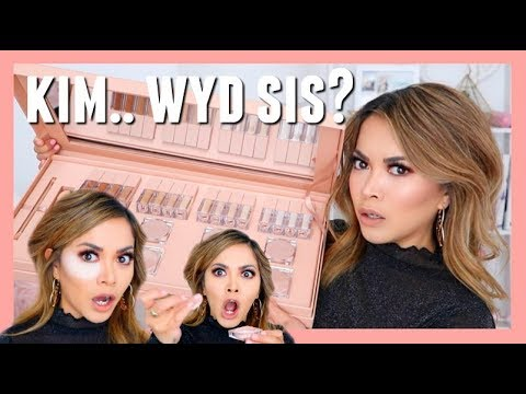NEW KIM KARDASHIAN CONCEALER KIT First Impressions Review   KKW BEAUTY