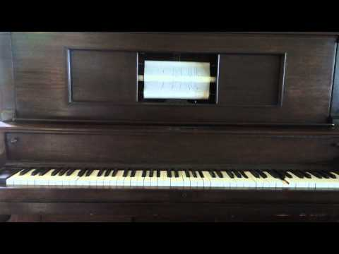 Antique Player Piano - Tie a Yellow Ribbon Around the Old Oak Tree