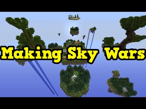 Minecraft Xbox One - Building A Sky Wars Map